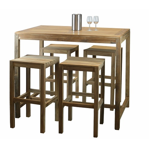 Eden Furniture - Jepara Teak Rectangular Bar Table
